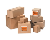 10- x 10- x 10- Corrugated Boxes (Bundle of 25)