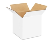 10- x 10- x 10- White Corrugated Boxes (Bundle of 25)