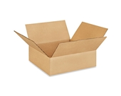 10- x 10- x 3- Flat Corrugated Boxes (Bundle of 25)