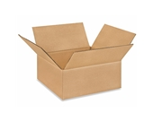 10- x 10- x 4- Flat Corrugated Boxes (Bundle of 25)
