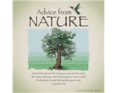 Advice from Nature 2012 Linen Wall Calendar