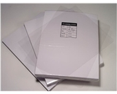 "Akiles 10 Mil 8.5"" x 14"" Square Corner Crystal Clear Binding Covers (100 Pcs)"
