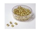 Akiles Brass-Plated Eyelets 4.8mm x 4.6mm (250/box)