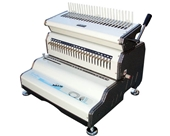"Akiles CombMac-24E 14"" Comb Binding Machine & Electric Punch, Heavy Duty Comb Opener"