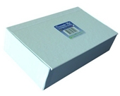 "Aurora GB Decorate Me Craft Box, Pencil Size, 8 9/16 in. L x 5 in W x 2 1/4 in. H, White, ""Cigar Box"""