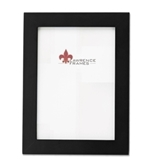 Lawrence Frames Black Wood 5 by 7 Picture Frame