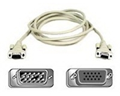Belkin Components - VGA Monitor Extension Cable 6 Ft.