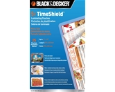 BLACK + DECKER TimeShield Thermal Laminating Pouches, Menu, 5 mil - 25 Pack (LAMMENU5-25)