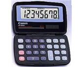 Canon LS555H Folding Dual Powered Handheld Calculator