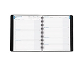 Day-Timer Monthly and Weekly Business Wire-Bound Planner, Red, 7.25 x 9 Inches, January 2013 Start (D4