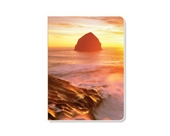ECOeverywhere Sunset Wave Journal, 160 Pages, 7.625 x 5.625 Inches, Multicolored (jr12125)