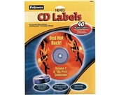 Fellowes NEATO CD Labels (Matte, 40-Count)