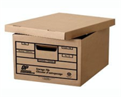 Letter / Legal Storage boxes (6 per pack) 450lb. strength