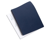 GBC Binding Cover, Linen Weave Texture Paper, 8.75 x 11.25 Inches, Navy, 50 per Pack (2001513)