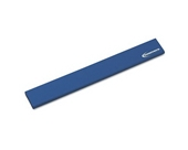 Innovera Products - Innovera - Natural Rubber Keyboard Wrist Rest, Blue - Sold As 1 Each - Encourages