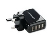 Kensington 4-Port USB Charger for Mobile
