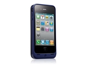Kensington K39288US PowerGuard Battery Case for iPhone 4 (Blue) (Fits AT&T iPhone)
