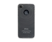 Kensington K39510US Grip Case for iPhone 4 and 4S - 1 Pack - Retail Packaging - Clear