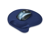 Kensington Wrist Pillow Mouse Pad with Wrist Rest in Blue (L57803US)