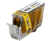 LD Canon CLI221 Yellow Compatible Inkjet Cartridge W/ Chip