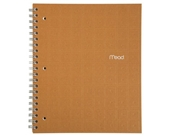 Mead Recycled Notebook, 1-Subject, 80-Count, College Ruled, Terra Cotta (72439)