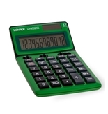 MONROE 240Z 12-DIGIT HANDHELD CALCULATOR (Green)
