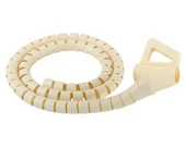 Monster CIT SWH-8 Small Diameter White Cable-It Wire Management System (8 feet)