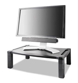 Extra Wide Adjustable Monitor/Laptop Stand - Single Level