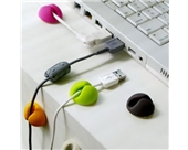 Multi-purpose Cable Clips, Multiple Color Options, Great Value, 6pcs/package