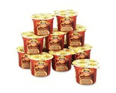 Office Snax OFX02154 Sturms Single Serve Instant Oatmeal Maple Brown Sugar 1.9 lb Bowl