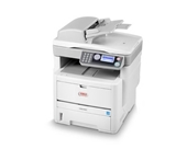 Okidata MB460 MFP (120V) Laser Printer, Fax, Copier & Scanne...