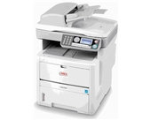Okidata MB480 MFP (120V) Laser Printer, Fax, Copier & Scanner with Network Card - 62433301