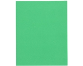 Oxford 57503 Twin Pocket Leatherette-Grained Portfolios, Light Green, 25/Box