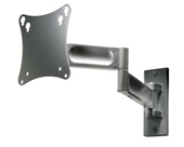 "Peerless PA730-S Articulating Wall Mount for 10"" to 22"" Displays Silver"