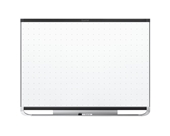 Quartet Prestige 2 Total Erase Magnetic Whiteboard, 6 x 4 Feet, Black Aluminum Frame
