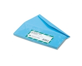 Quality Park Colored Envelope, Traditional, #10, Blue, 25 per Pack (11137)
