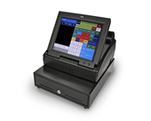 "Royal TS1200MW Touchscreen Cash Register with 12"" LCD Screen"