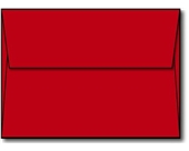 "Red A6 Envelopes, 4 3/4"" x 6 1/2"" - 100 Envelopes"