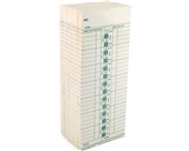 ROYAL 13702 Time Cards for TC100 / TC200 Time Clocks, 250 Count