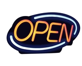 Royal Sovereign LED Open Sign