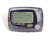4 - Line Alpha-Numeric Staff Pager - Battery Operated