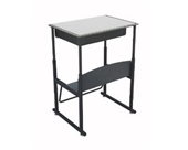 Safco AlphaBetter Desk, 28 by 20 Premium Top with Book Box [Kitchen]
