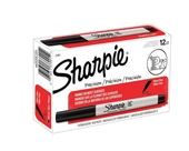 Sharpie 37001 Ultra Fine Point Permanent Markers, Black (Box of 12)
