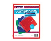 Smead 89501 Campus.org Poly Color Envelopes - 5 Pack, Assorted Colors