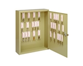 SteelMaster Motor Vehicle 60-Key Cabinet, 16.5 x 20.13 x 5 Inches, Single Lock, Sand (201006003)