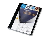 Swingline GBC Regency Premium Presentation Covers, Round Corners, Black, 50 Pack (2001712A)