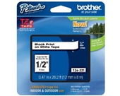 Brother TZe231 Laminated Black on White Tape
