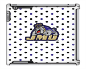 Uncommon LLC Polka Dots Deflector Hard Case for iPad 2/3/4, James Madison University (C0050-IL)