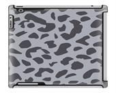Uncommon LLC Deflector Hard Case for iPad 2/3/4 - Cheetah Print Gray Animal (C0010-VR)