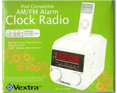 Vextra AM/FM iPod Compatible Clock Radio